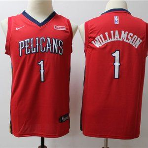 Youth Orleans Pelicans Zion Williamson City Jersey